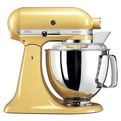 Kitchenaid Iksm175pmy Planetary artisan 4.8 l - majestic yellow - warranty 5 years Artisan