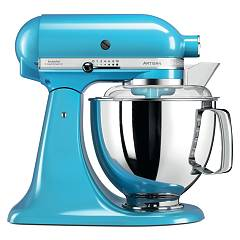 Kitchenaid Iksm175pcl Planetary artisan 4.8 lt - blue crystal - warranty 5 years Artisan