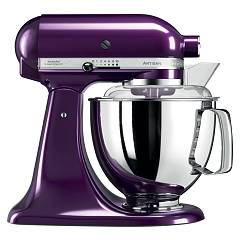 sale Kitchenaid Iksm175ppb Planetary Artisan 4.8 Lt - Plum - Warranty 5 Years