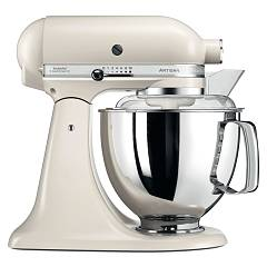 sale Kitchenaid Iksm175pelt Planetary Artisan 4.8 Lt - Meringue - Warranty 5 Years