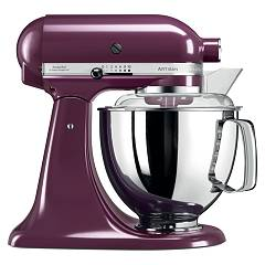 sale Kitchenaid Iksm175pby Planetary Artisan 4.8 Lt - Purple - Warranty 5 Years