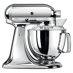 sale Kitchenaid Iksm175pcr Planetary Artisan 4.8 Lt - Chrome Plated - 5 Years Warranty