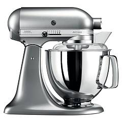 Kitchenaid Iksm175pnk Planetary artisan 4.8 lt - brushed nickel - warranty 5 years Artisan