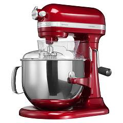 sale Kitchenaid Iksm7580ca Planetary Artisan 6.9 Lt - Apple Red Metallic - 5-year Warranty