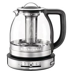Kitchenaid 5kek1322ess Tea artisan 1.5l in glasrohr Ikek1322ss