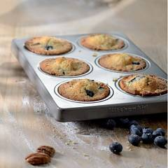 Kitchenaid Ikbnss06mf Set of 2 molds for 6 muffins and cupcakes