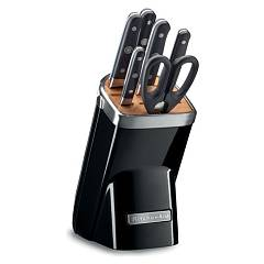 sale Kitchenaid Ikkfma07ob 6 Knives + Strain Black