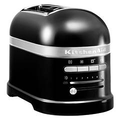 Kitchenaid 5kmt2204eob Artisan toaster with 2 compartments - black onice - 5 years warranty Ikmt2204 B