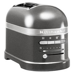 Kitchenaid Ikmt2204ms Toaster artisan 2-compartments - silver-medal - warranty 5 years Artisan