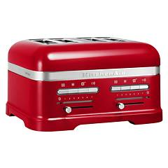 Kitchenaid 5kmt4205eca Artisan toaster with 4 compartments - red metalized apple - 5 years warranty Ikmt4205ca