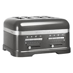 Kitchenaid 5kmt4205ems Artisan toaster with 4 compartments - silver medal - 5 years warranty Ikmt4205ms