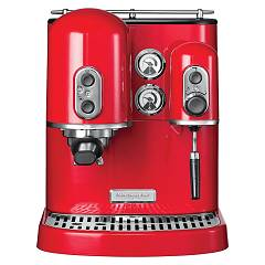 Kitchenaid 5kes2102eer Artisan coffee machine - imperial red - 3 jahre garantie Ikes2102 R