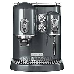 Kitchenaid 5kes2102ems Artisan coffee machine - metallic grey - 3 jahre garantie Ikes2102ms