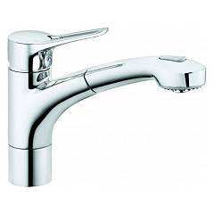Kludi 399420562 Kitchen mixer - single-lever chrome with shower Mx