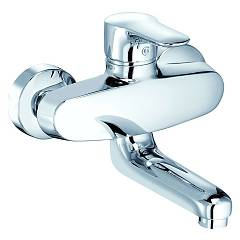 Kludi 328810575 Kitchen mixer - chrome single-lever wall Objekta