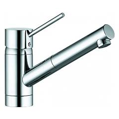 Kludi 339320575 Kitchen mixer - single-lever chrome with shower Scope