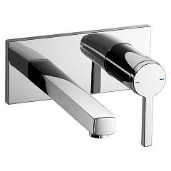 Kwc 11.192.034.000 Wall-mounted kitchen mixer - chrome Ava