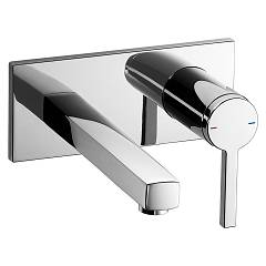 Kwc 11.192.034.000 Sink mixer - chrome distance from the wall mm. 225 Ava
