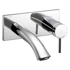 Kwc 11.202.034.000 Wall-mounted sink mixer - chrome Zoe