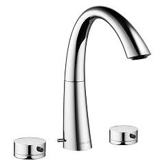 Kwc 12.203.151.000fl - Zoe Sink faucet - chrome with exhaust Zoe