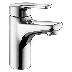 sale Kwc 12.368.041.000fl - Piana Basin Mixer - Chrome With Exhaust