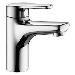 sale Kwc 12.368.042.000fl - Piana Basin Mixer - Chrome With Exhaust