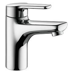 sale Kwc 12.361.032.000fl - Piana Basin Mixer - Chrome With Exhaust