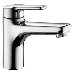 sale Kwc 12.368.043.000fl - Piana Basin Mixer - Chrome With Exhaust