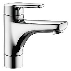 sale Kwc 12.368.011.000fl - Piana Basin Mixer - Chrome With Exhaust