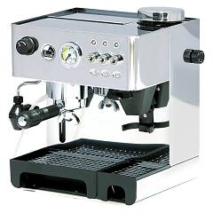 La Pavoni Dmb Combined pump coffee machine - stainless steel Domus Bar Levetta