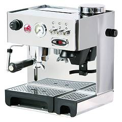 La Pavoni Dmbpid Combined pump coffee machine - stainless steel Domus Bar Levetta Pid