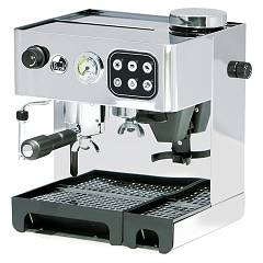 La Pavoni Ded Combined pump coffee machine - stainless steel Domus Bar Dosata