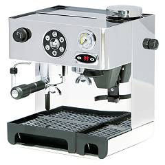La Pavoni Dedpid Combined pump coffee machine - stainless steel Domus Bar Dosata Pid