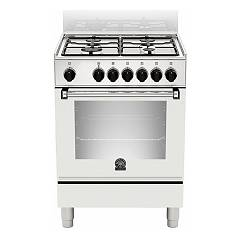 La Germania Amn654ebv Striking kitchen cm. 60 x 50 - white 1 electric oven + 4 gas burners Americana