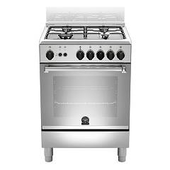 La Germania Amn604gevsxe Kitchen from accosto cm. 60 x 60 - inox 1 gas oven + 4 gas burns Americana