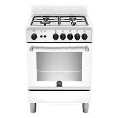 La Germania Amn604gevswe Kitchen from accosto cm. 60 x 60 - white 1 gas oven + 4 gas burns Americana