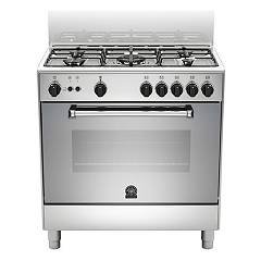 La Germania Amn855gxv Kitchen from accosto cm. 80 x 50 - inox 1 gas oven + 5 gas burns Americana