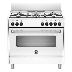La Germania Amn905mfeswe Kitchen from accosto cm. 90 x 60 - white 1 electric oven + 5 gas burns Americana