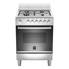 La Germania Ftr664exv Kitchen from accosto cm. 60 x 60 - inox 1 electric oven + 4 burners gas Futura