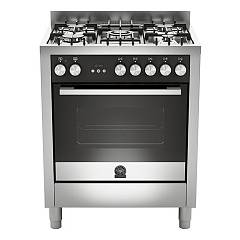 La Germania Ftr765ext Striking kitchen cm. 70 x 60 - stainless steel 1 electric oven + 5 gas burners Futura