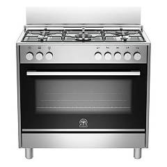 La Germania Ftr965exv Kitchen from accosto cm. 90 x 60 - inox 1 electric oven + 5 gas burns Futura