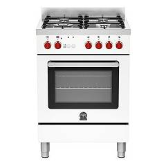 La Germania Prm604gevswc Kitchen from accosto cm. 60 x 60 - white 1 gas oven + 4 gas burns Prima