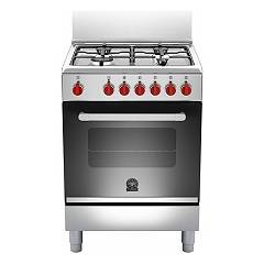 La Germania Prm604mfesxe Kitchen from accosto cm. 60 x 60 - inox 1 electric oven + 4 burners gas Prima