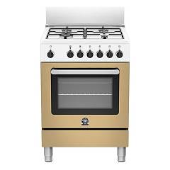 La Germania Prm604mfeswle Striking kitchen cm. 60 x 60 - caffelatte 1 electric oven + 4 gas burners Prima