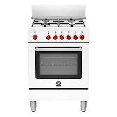 La Germania Prm604gevswe Kitchen from accosto cm. 60 x 60 - white 1 gas oven + 4 gas burns Prima