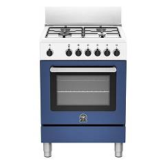 La Germania Prm604gevswbe Striking kitchen cm. 60 x 60 - blue 1 gas oven + 4 gas burners Prima