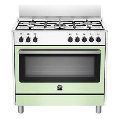 La Germania Prm905mfeswve Striking kitchen cm. 90 x 60 - green 1 electric oven + 5 gas burners Prima