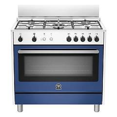 La Germania Prm905gevswbe Striking kitchen cm. 90 x 60 - blue 1 gas oven + 5 gas burners Prima