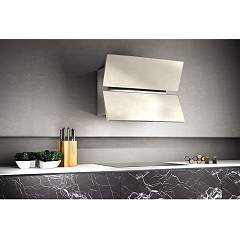 Lav.in L039p09e42 - Flap Wall-mounted hood cm. 90 - lime-white