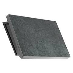 Lav.in L038p09e41 - Slate Wall-mounted hood cm. 80 - stone savoy grey
